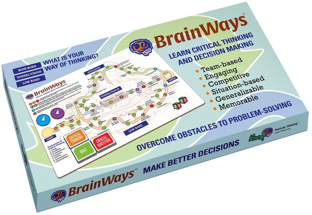 BrainWays, a critical thinking game