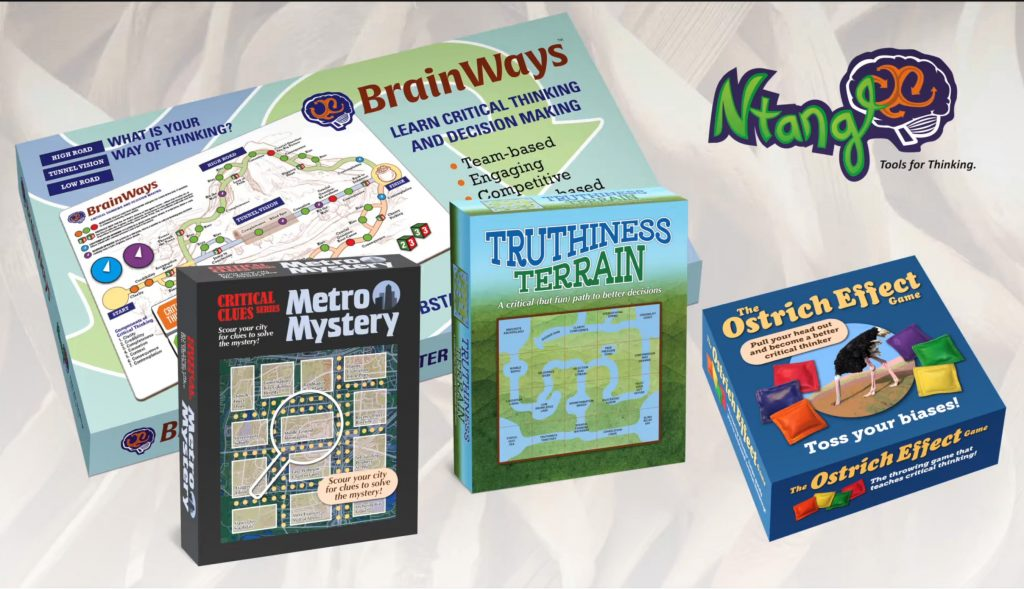 Explore our fun games that help to root out biases and bring clarity to problem solving.